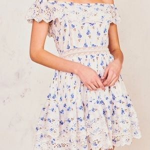 LOVESHACKFANCY denver dress -brilliant blue- SIZE0